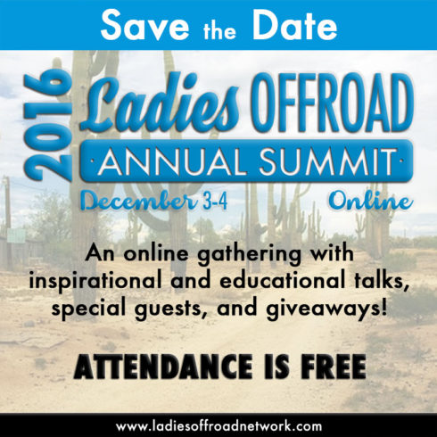 2016 Ladies Offroad Annual Summit