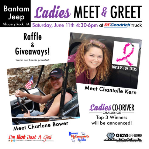 Bantam Jeep Festival Ladies Meet & Greet – June 11