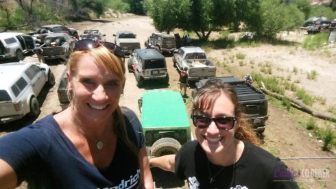 Trail of Missions – DAY 1 – Ladies Co-Driver Challenge – Event 1