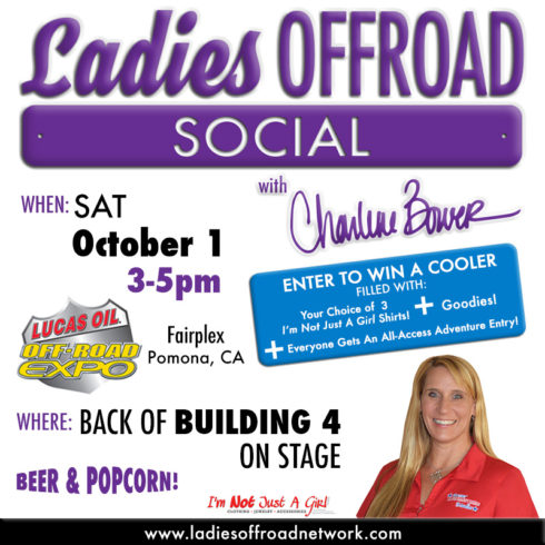 Ladies Offroad Social at 2016 Lucas Oil Off-Road Expo