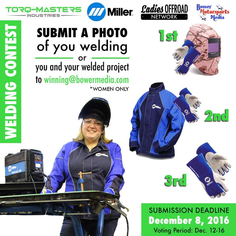 Ladies Welding Photo Contest