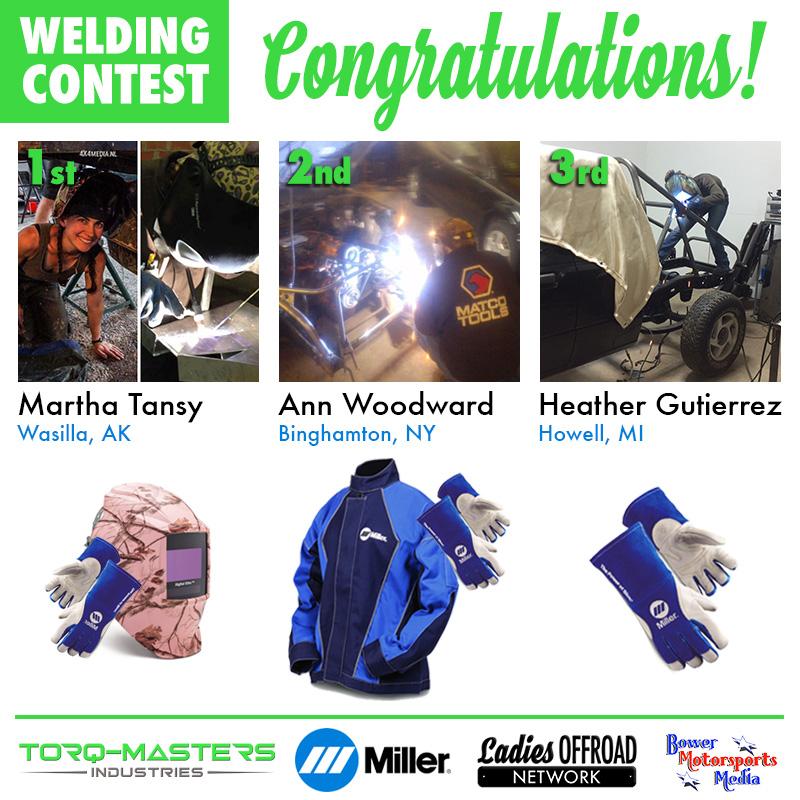 Welding Contest Winners