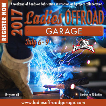 Register Now: Ladies Offroad Garage