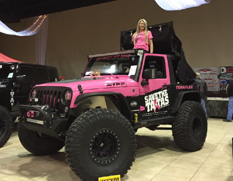 That Pink Jeep Girl Ladies Offroad Network