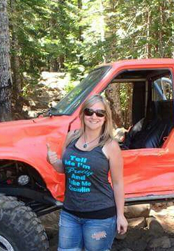 Holly Erlandsen werock ladies offroad network