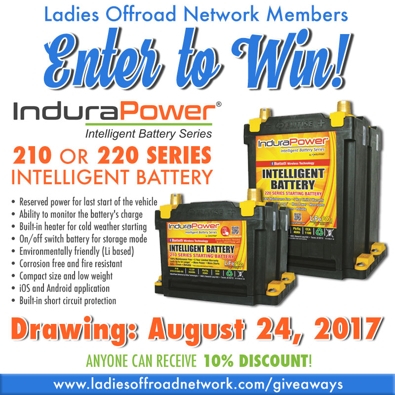 August 2017 Giveaway