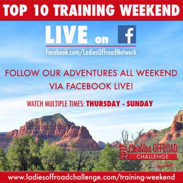 2017 Ladies Offroad Challenge Top 10 Training Weekend