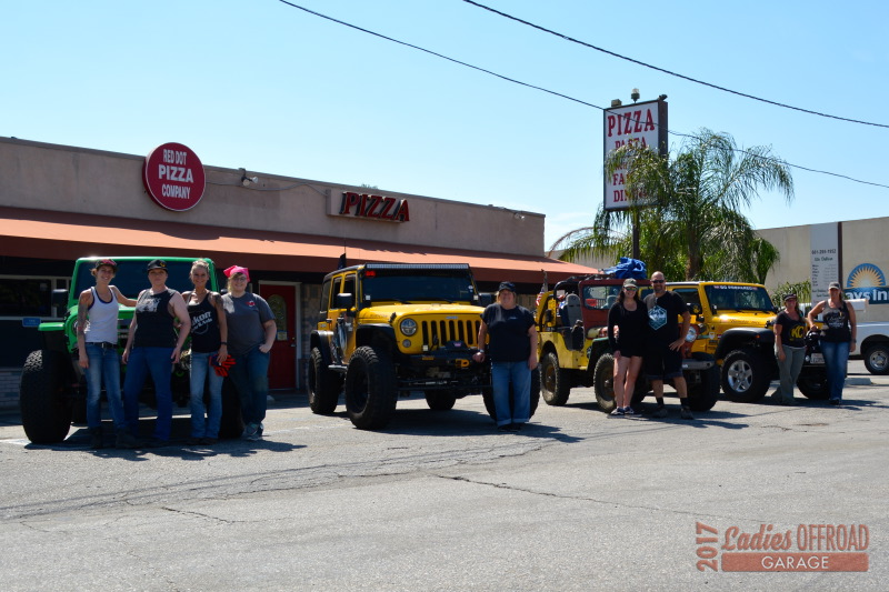2017 Ladies Offroad Garage Recovery Training