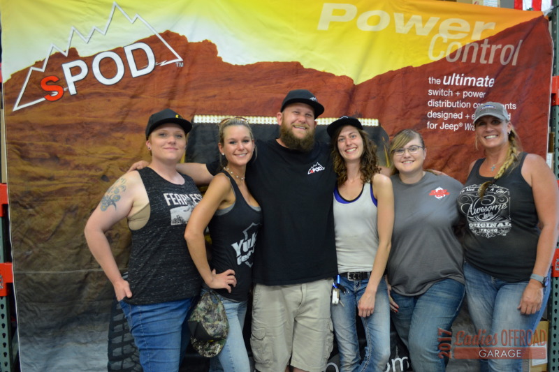 2017 Ladies Offroad Garage sPod