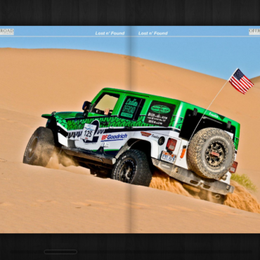 Offroad Lifestyle: The Californian Sahara Glamis