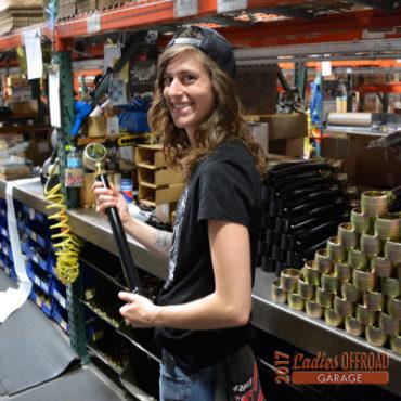 Rileigh Augustine's Ladies Offroad Garage Experience