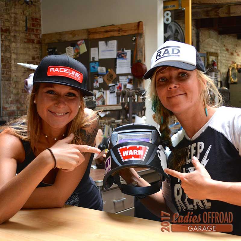 Trisha Glezen's Ladies Offroad Garage Experience