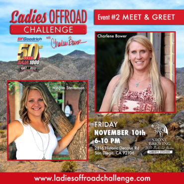 Ladies Offroad Challenge Baja 1000 Meet & Greet