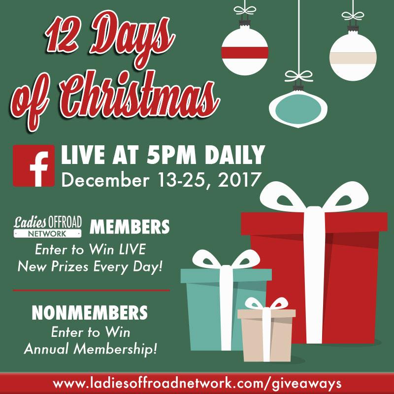 December 2017 Giveaway