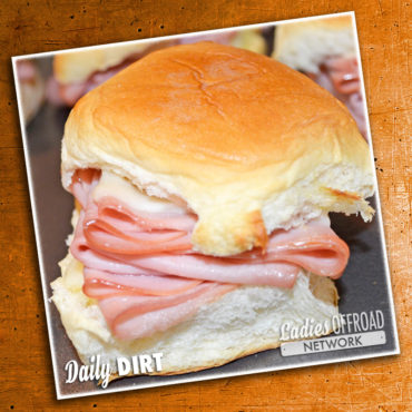 Camping Ham and Cheese Rolls