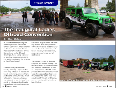 JeepFreek: The Inagural Ladies Offroad Convention
