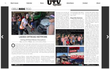 UTV Sports: Uniting Off-Road Women Everywhere