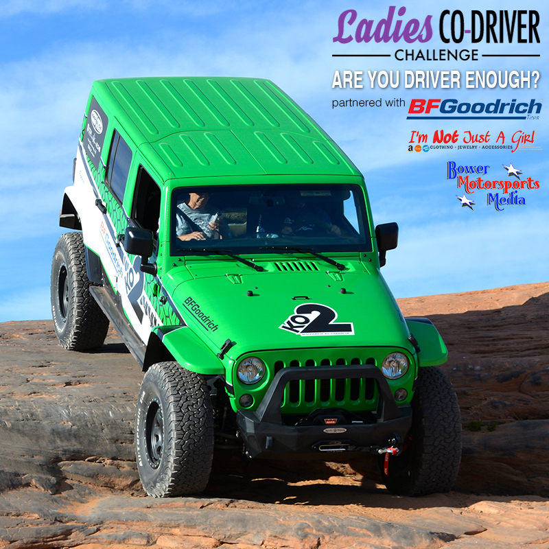 Bower Media Announces 2016 Girls Co-Driver Challenge