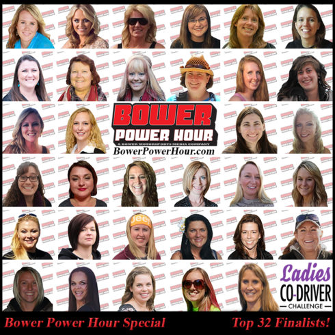 Bower Power Hour Features 32 Women from the Ladies Co-Driver Challenge