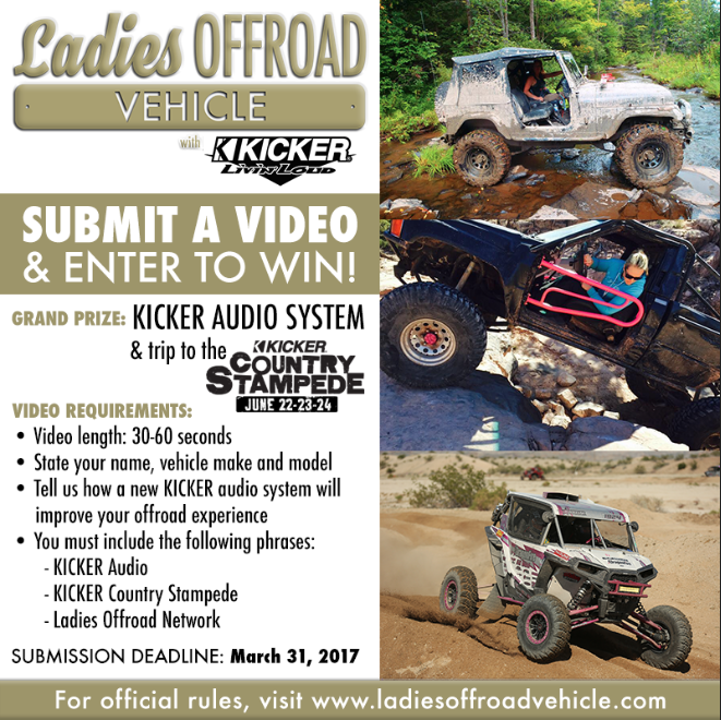 Kicker Ladies Offroad Vehicle