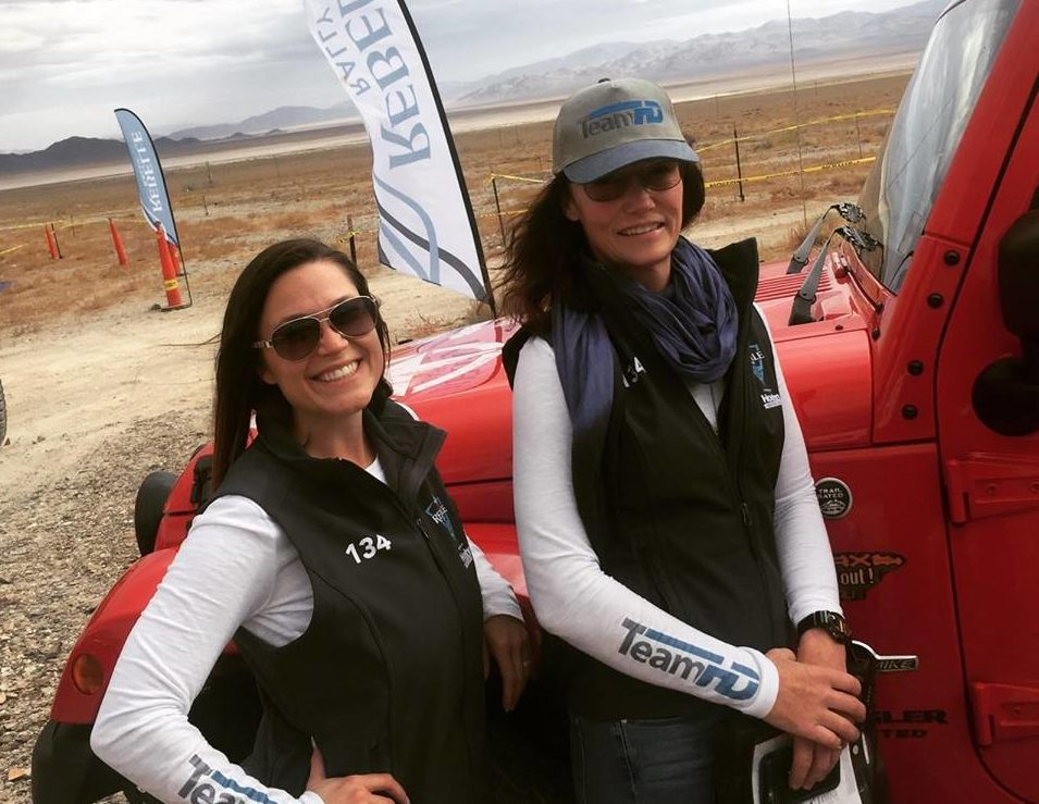 Shelby Hall and Amy Lerner, Team HD, Drive to a 4th-Place Finish in America's 1st-Ever All-Women's Rebelle Rally