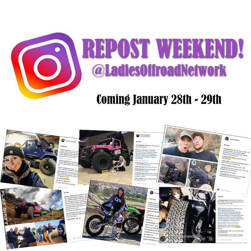 Instagram Repost Weekend
