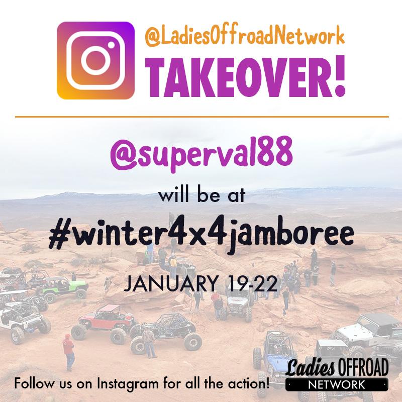 Instagram Takeover: Winter 4×4 Jamboree