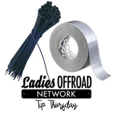 Tip Thurs ZipTies Duct Tape
