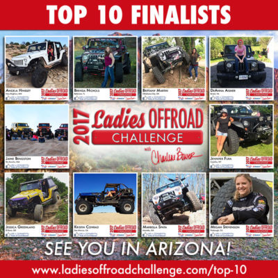2017 Ladies Offroad Challenge Top 10 Finalists