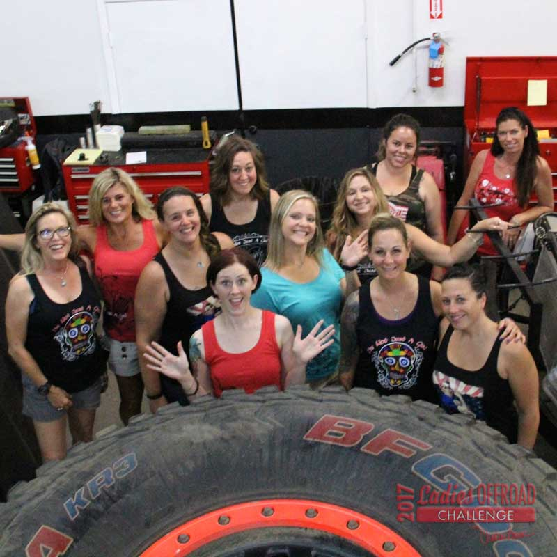 2017 Ladies Offroad Challenge Training Weekend – Geiser Bros Shop Tour #2