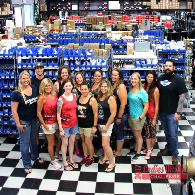 2017 Ladies Offroad Challenge Training Weekend – SDHQ Off-Road Shop Tour