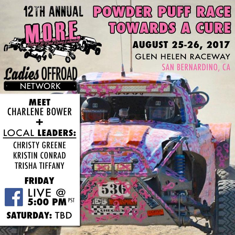 12th Annual M.O.R.E. Powder Puff Race Towards A Cure