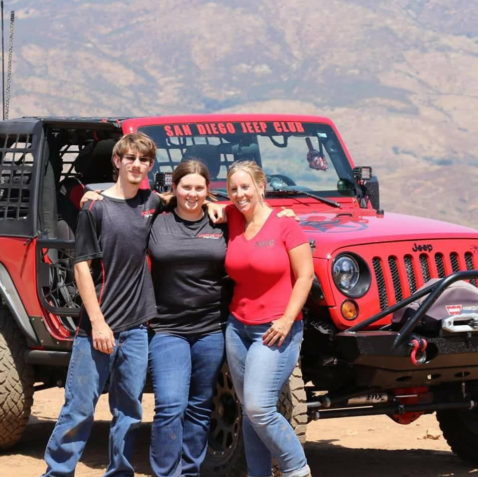 San Diego Jeep >> Amy Volmer Ladies Offroad Network