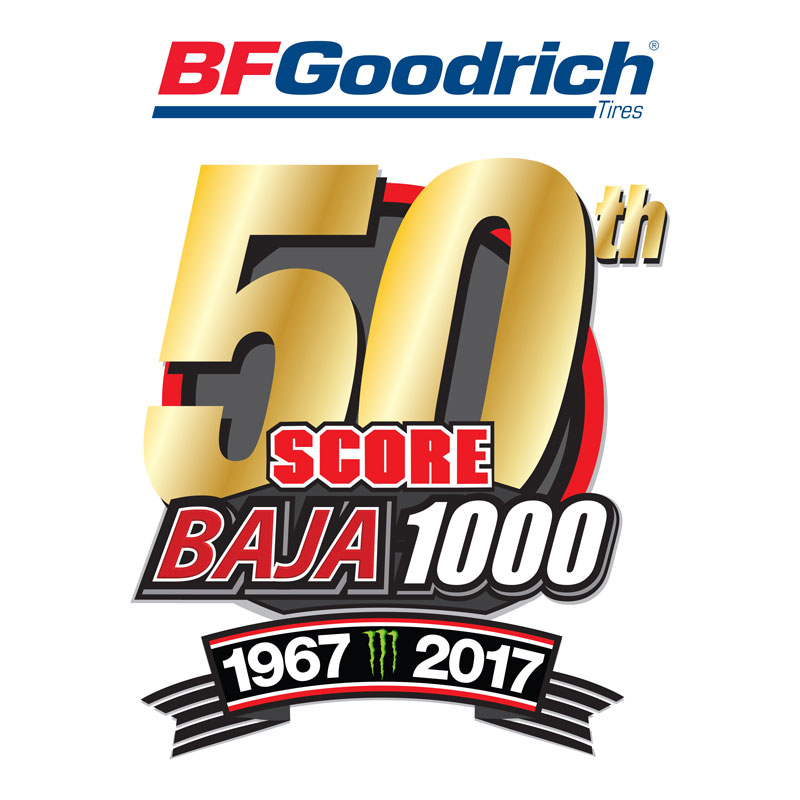 Official Finishers – 50th BFGoodrich Tires SCORE Baja 1000