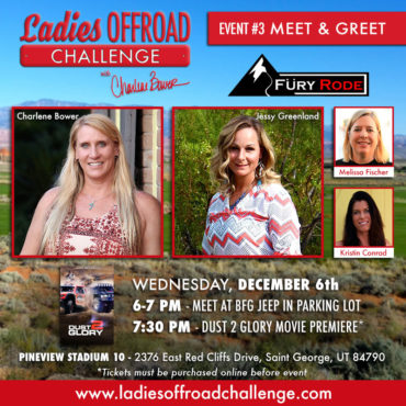 Ladies Offroad Challenge Fury Rode Meet & Greet