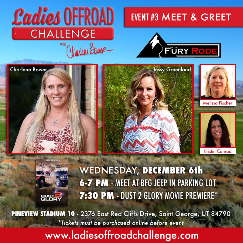 Ladies Offroad Challenge Fury Rode Meet & Greet