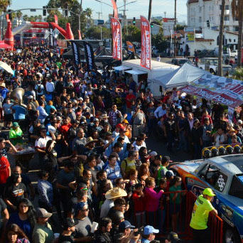 50th Baja 1000 Legends, Dignitaries, Government Officials, Media and Racers