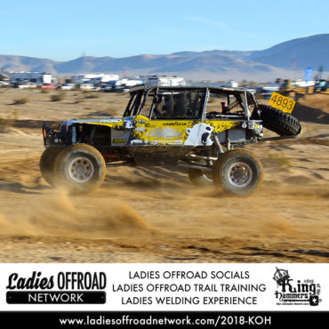 Ladies Offroad Trail Training at 2018 King of the Hammers