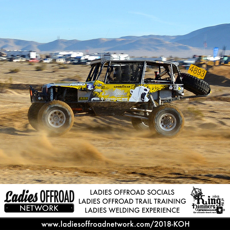 Ladies Offroad Network at 2018 King of the Hammers