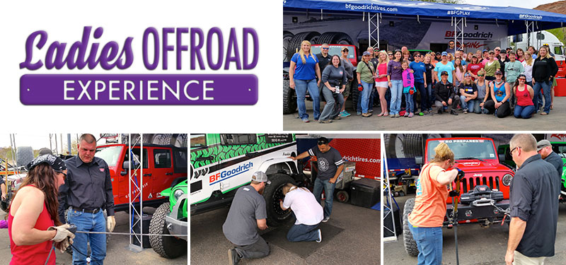 Ladies Offroad Experience at Easter Jeep Safari