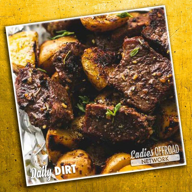 Steak and Potato Foil Packs