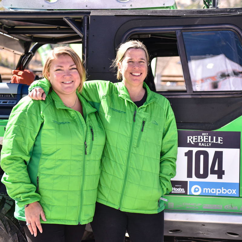Team #104 TORQ Locker Jeep Rebelle Rally 4th Place Event Report