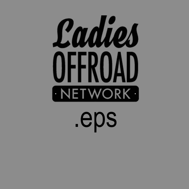 Ladies Offroad Network Stack Logo .eps