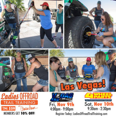 Trail Training – Las Vegas November 2018