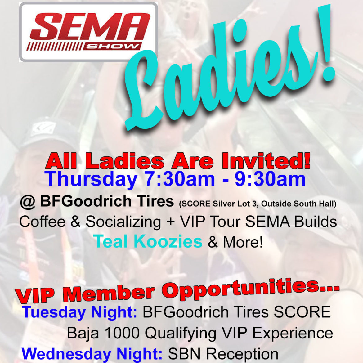 Ladies Offroad Network at SEMA 2018