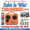 November 2018 Giveaway