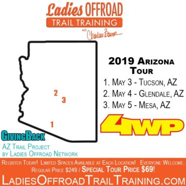 Trail Training Tour – Arizona 2019