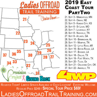 Trail Training Tour – East Coast (Part 2) 2019