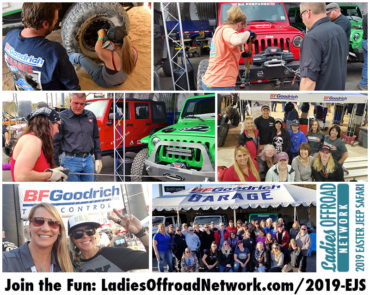 Ladies Offroad Network at 2019 Easter Jeep Safari