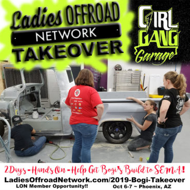Bogi's Girl Gang Garage Takeover